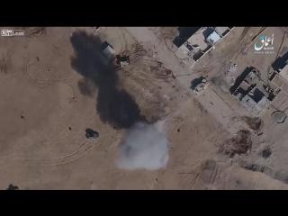 С дрона сбросили бомбу
