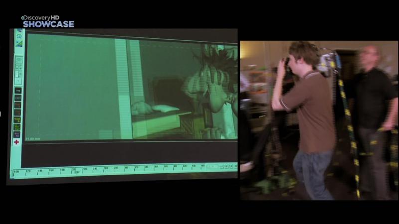 Наука на службе Кино Сцены погони трехмерная магия Discovery Science HD 1080