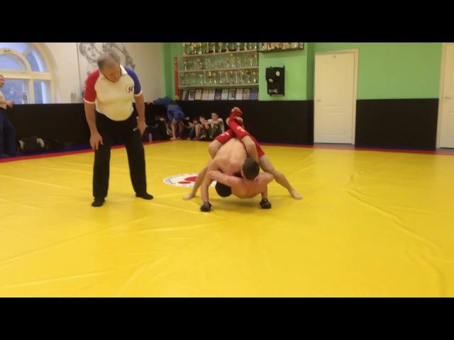 Профессиональное боевое самбо, Изотов Нестор (новогодний турнир,первый бой)