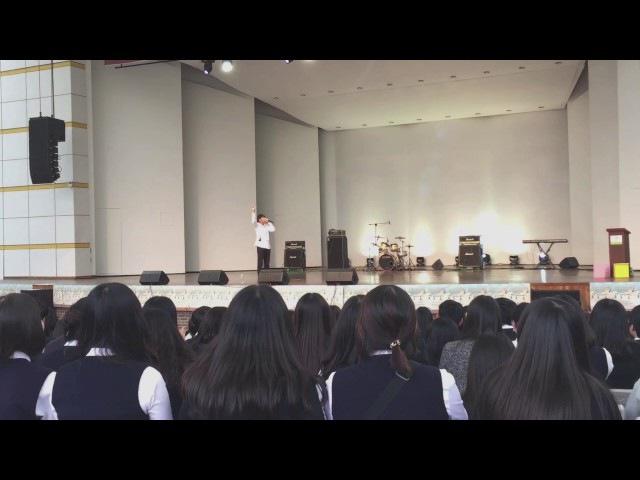 Hiss | Live @ Gwonseon High school Festival (권선고 축제 비트박스공연)