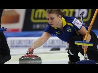 CURLING: Euro Chps 2012 - Women Semifinal SWE - RUS