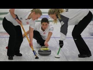 CURLING: World Junior Chps 2013 - Women Draw 1 NOR-RUS