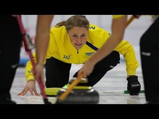 CURLING: World Junior Chps 2013 - Women Draw 6 SWE-RUS