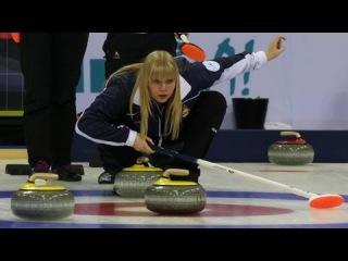 CURLING: World Junior Chps 2013 - Women Final SCO-RUS