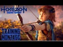 Horizon Zero Dawn - Epic Training Montage - Aloy trains for the Proving grows up