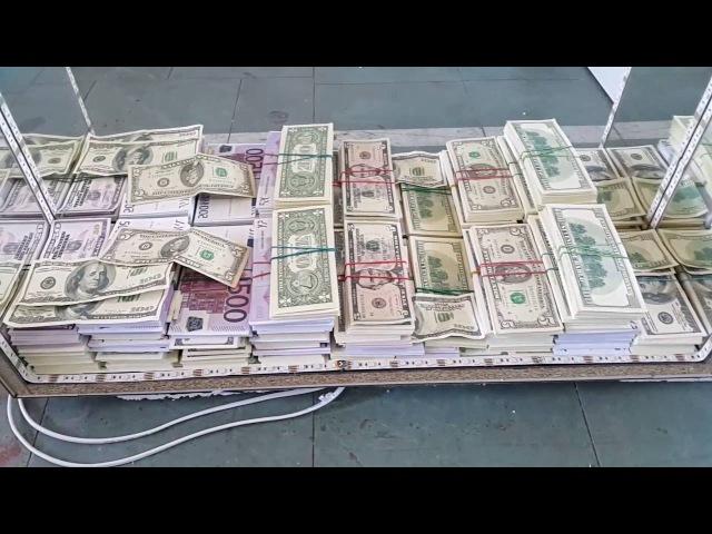 Зеркало RGB с денежной бесконечностью Mirror RGB with cash infinity