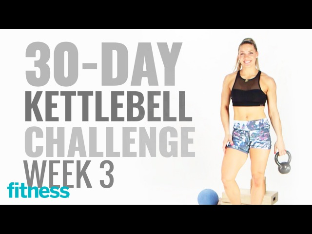 Week 3 Core Workout and Cardio 30 Day Kettlebell Challenge with @kaisafit Fitness