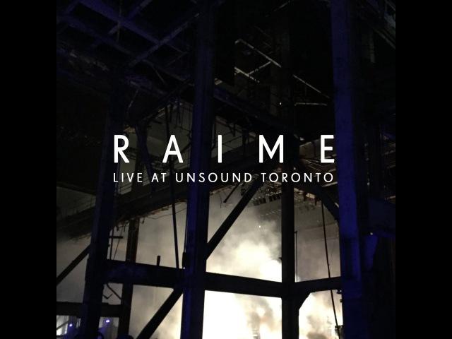 Raime - Coax (live at Unsound Toronto)