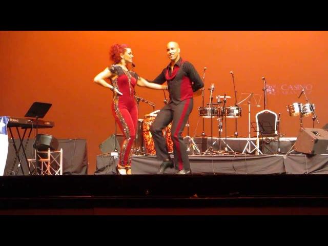 TROY Y JORJET ALCOCER SHOW EN EL FESTIVAL INTERNACIONAL CON SENTIMIENTO DE MADRID 08 12 13