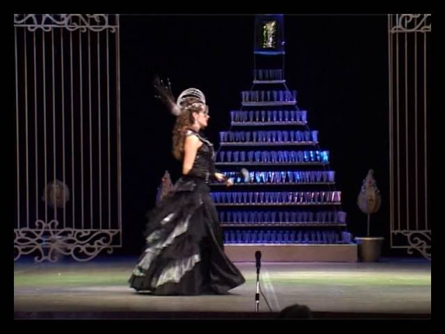 Юлия Башкатова - Летучая мышь. Сцена Розалинды с Фальком.