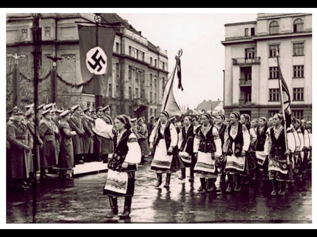 Как западная Украина в 41-м фашистов встречала.