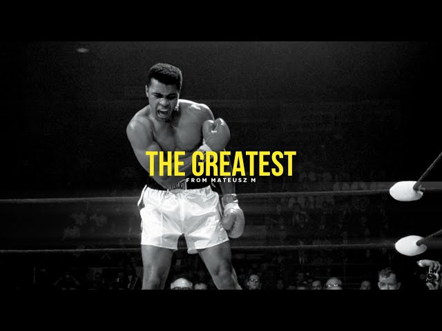 The Greatest Muhammad Ali Inspirational Video