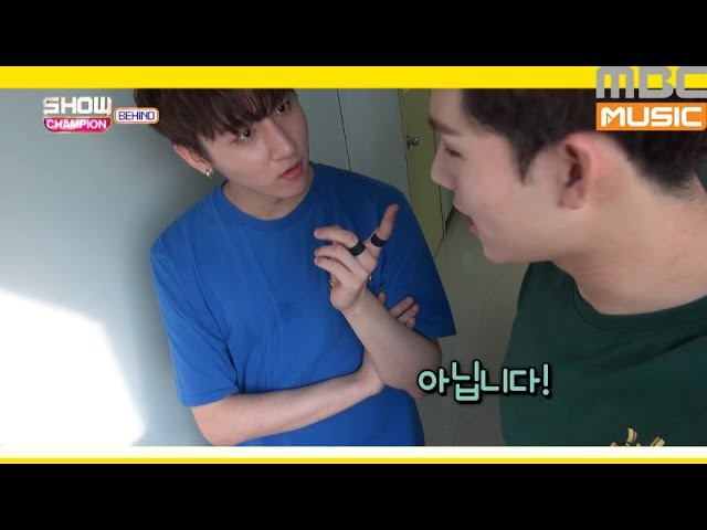 [RAW YT][16.08.2016] (Showchampion behind EP.18) Jooheon loves I.M's joke style
