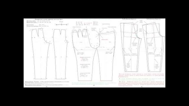 9 урок Особенности построение брюк на сложные фигуры