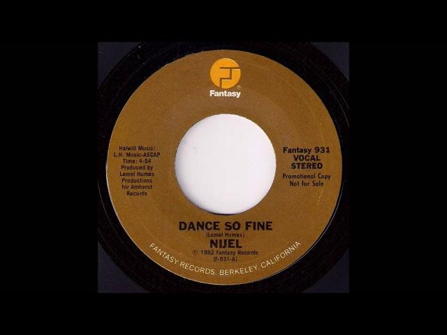 Boogie Funk 45 : Nijel - Dance So Fine [Fantasy] 1982 Musicdawn 45's