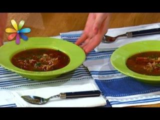 Рисовый суп: рецепт Ольги Сумской (повтор)  Все буде добре. Выпуск 1001 от
