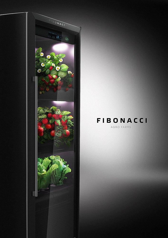 Домашняя Агроферма FIBONACCI - единственная в своём роде установка, позволяющая автоматически выращивать овощи и фрукты круглый год thumbnail