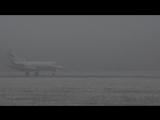 Посадка в Минск-2 Як-40 6.11.2016
