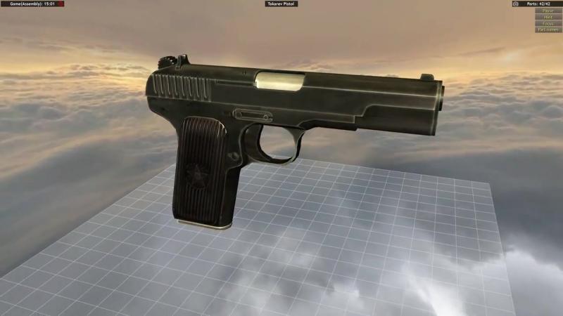 пистолетик ТТ (Тульский Токарева)
