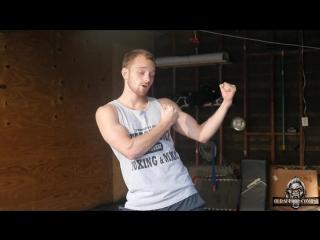 Ирландская боевая стойка - Олдскульная техника