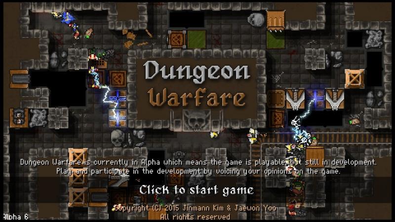 Dungeon Warfare на GameGuru.ru - Пиксельный tower defence с Бадиком и бадами.
