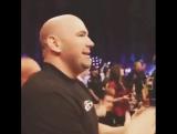 реакция Dana White на бой Nick Diaza &amp Paul Daley