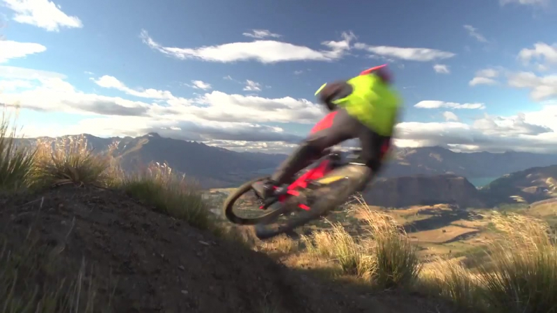 George Brannigan Rips Down Coronet Peak