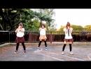Japanese schoolgirls dance-Танец японских школьниц.