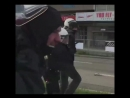 Polizei vs Blockierer vor AfD Parteitag