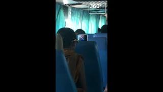 Буддийского монаха застукали за просмотром порно в автобусе