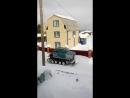 Для уборки снега сыктывкарские умельцы «скрестили» Оку с трактором