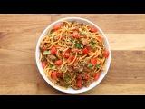 Quick &amp Easy One-Pot Taco Spaghetti