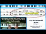 'In a Sentimental Mood' - jazz piano tutorial