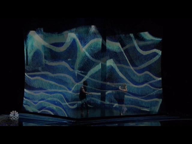 America's Got Talent 2016 Sila Sveta High-Tech Visual Dance Experience Live Shows Round 1 S11E12