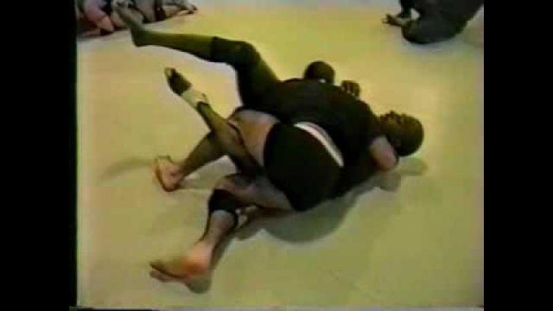 Fabio Gurgel rolling with Lloyd Irvin BJJ Brazilian Jiu Jitsu