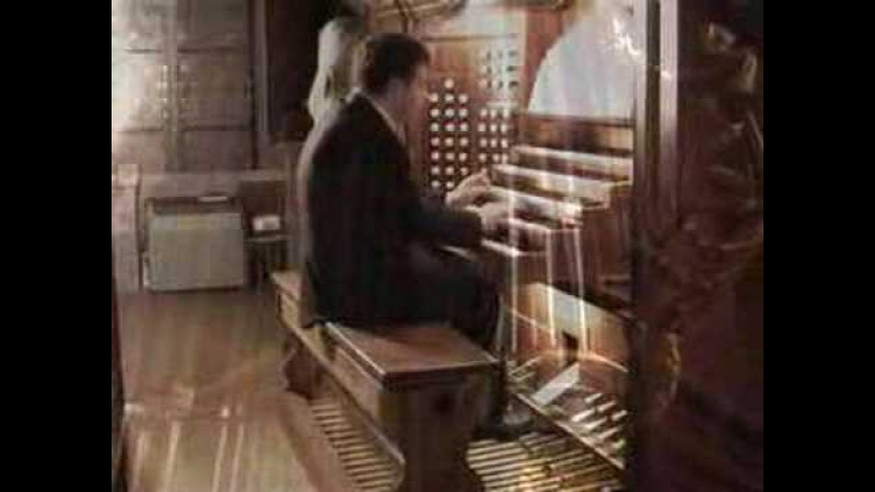 J S Bach Passacaglia Fragment Denis Fedorov Organ