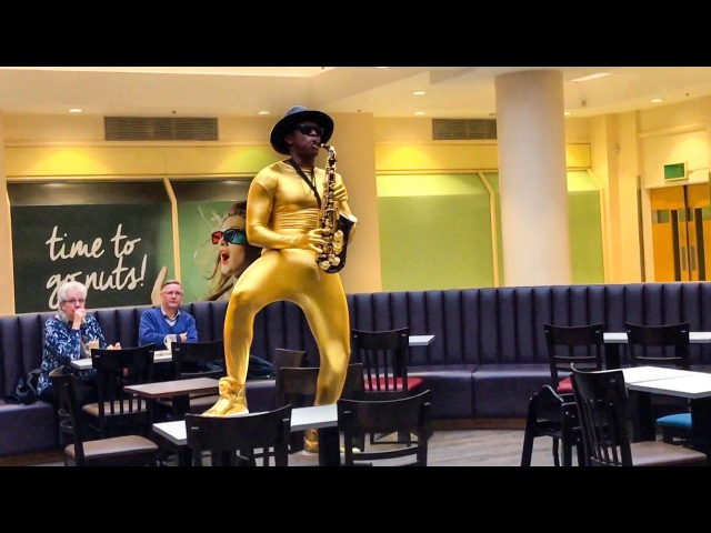 Black Epic Sax Guy [my Padre]
