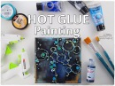 Hot Glue Bubbles Painting Technique for Beginners ♡ Maremi's Small Art ♡