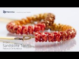 Sandstone Town - Jewelry set made from PRECIOSA Tee beads