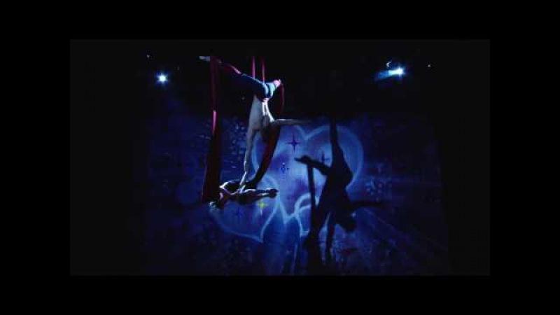 Акробатический дуэт Тищенко Ростислав и Цибулько Наталья на конкурсе Музыка се...