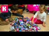 Кладовка с Новыми игрушками и нарядами Распаковка пакетиков и Машемс Принцессы и Щенячий Патруль