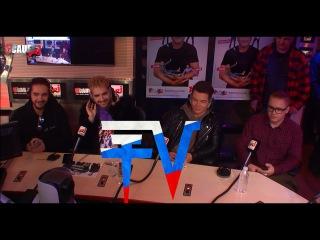 Tokio Hotel в эфире C'Cauet sur NRJ - 20.03.2017 (с русскими субтитрами от TH Comminity VK)