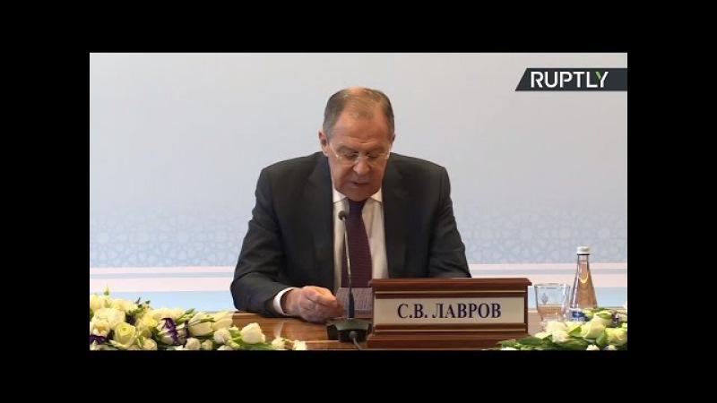 Пресс конференция Лаврова по итогам заседания СМИД СНГ