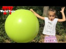 Арина лопаем гиганский шар Giant Balloon Pop Toy Surprise Chocolate Surprise Eggs - Shopkins