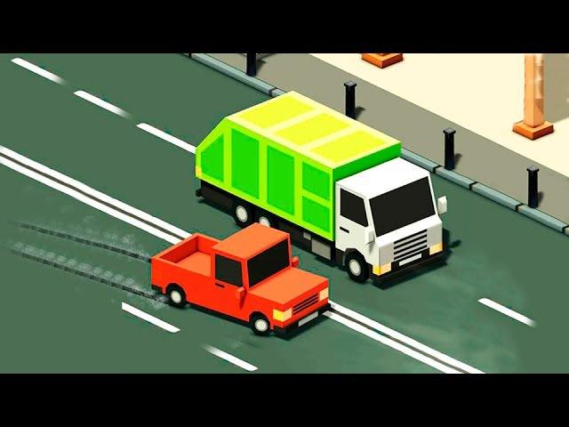 Машинки - Скорая помощь Пожарная машина у видео для детей - Учимся водить машины. ...