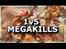 Heroes of the Storm - Best 1v5 Megakills