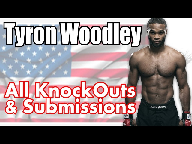 Tyron Woodley KOs All KnockOuts Highlights Bellator UFC MMA