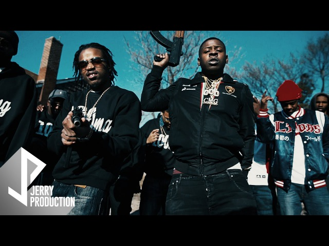 Leek Hustle ft. Blac Youngsta - Trappin Foreal (Remix) (Official Video) Shot by @JerryPHD