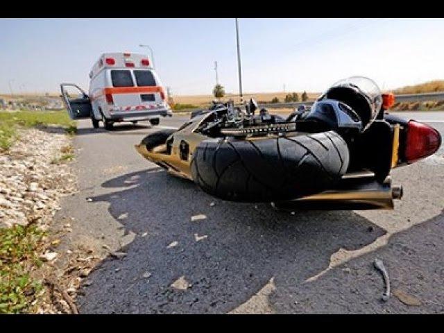 Мотоцикл ошибок не прощает - самые страшные Мото Аварии 2016