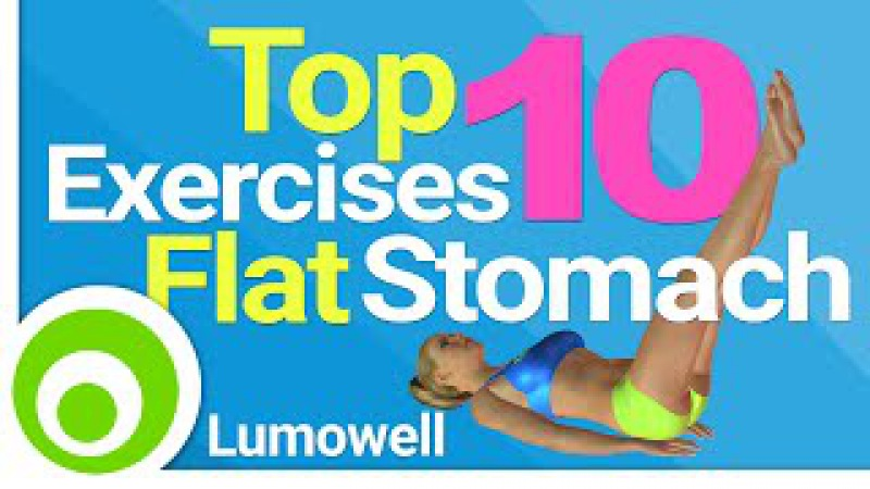 Top 10 Exercises For A Flat Stomach: Best Exercises to Lose Belly Fat